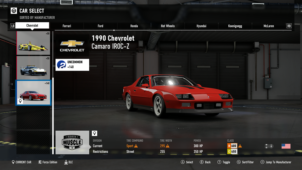 FM7 Time Attack   B Class (FWD/RWD/AWD) - Lime Rock South Chicane Lime_r10