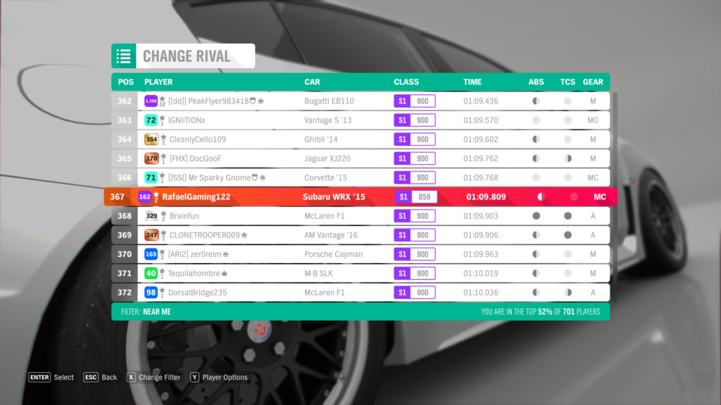 FH4 Time Attack | Holyrood Park Circuit - 600hp (FWD/RWD/AWD) Screen19