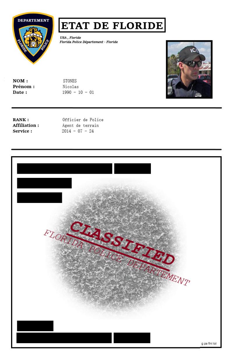[= FLORIDA POLICE DÉPARTEMENT =] - Officier STONES Nicolas Florid10