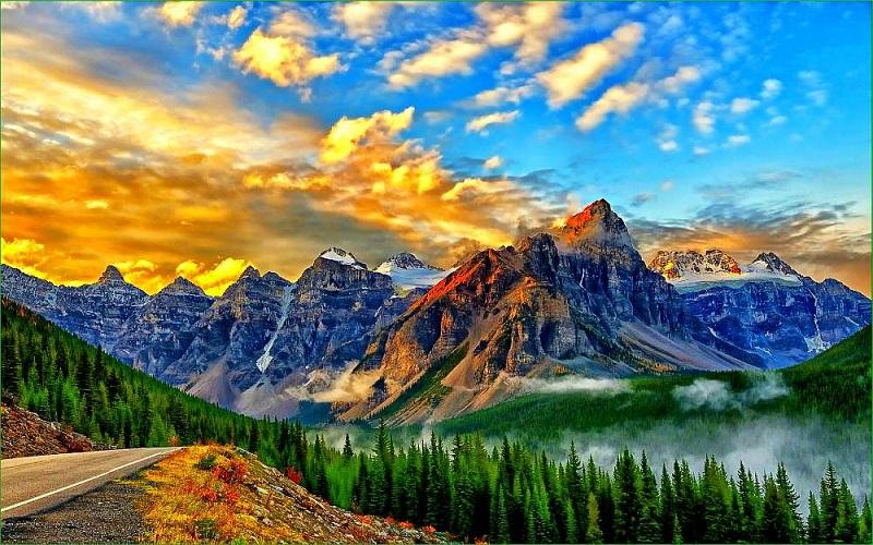 Горы Banff-10
