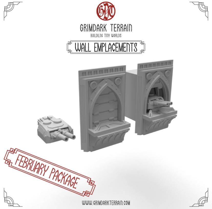 GrimdarkTerrain - superbes décors à imprimer compatibles AT Image113