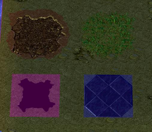 Se puede agregar una ruta personalizada a una textura de terreno? Ruta_e12