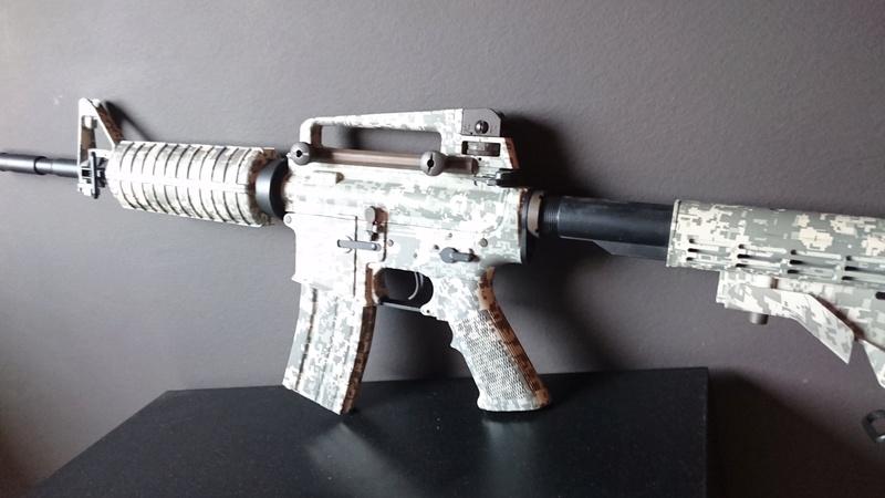 Navy SEALs M4A1  ACU King Arms et Barrett M82A1 AEG FULL METAL Noir Snow Wolf Dsc_0311