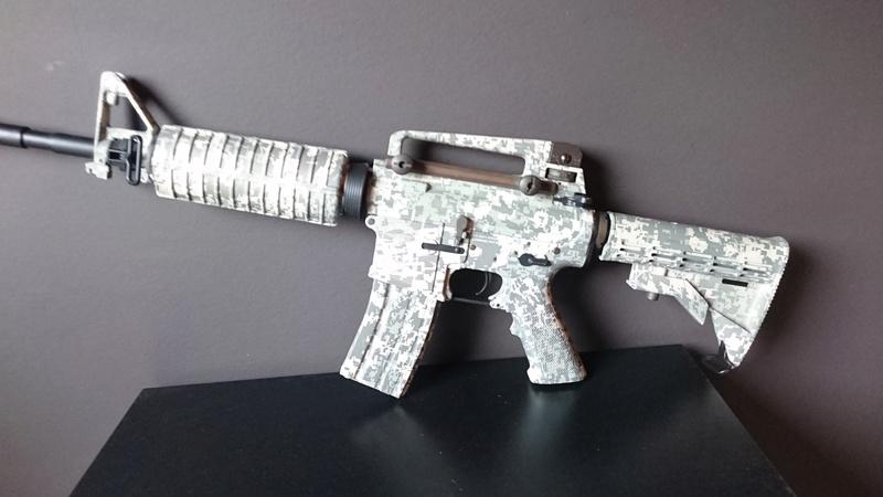Navy SEALs M4A1  ACU King Arms et Barrett M82A1 AEG FULL METAL Noir Snow Wolf Dsc_0313