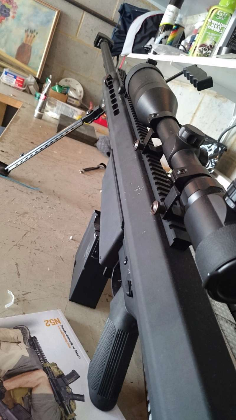 Navy SEALs M4A1  ACU King Arms et Barrett M82A1 AEG FULL METAL Noir Snow Wolf Dsc_0318