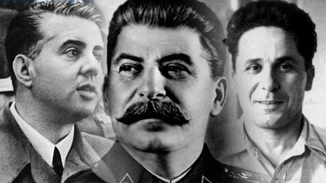 Reunión tripartita Stalin, Hoxha y Zachariadis en 1950 44458110