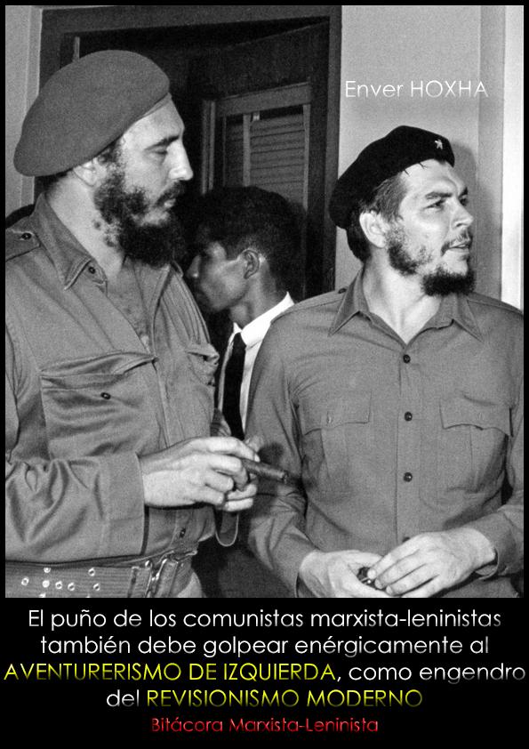 El puño de los comunistas marxista-leninistas debe también golpear enérgicamente el aventurerismo de izquierda; Enver Hoxha, 1968  Portad10