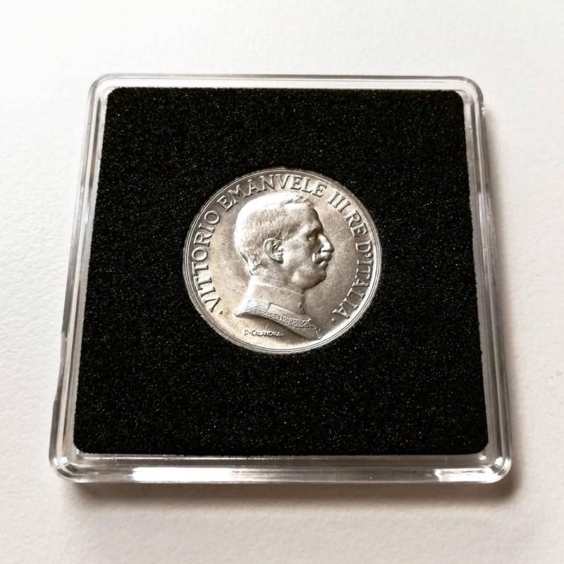 1 Lira de Vittorio Emanvele III, Italia 1917 20190514