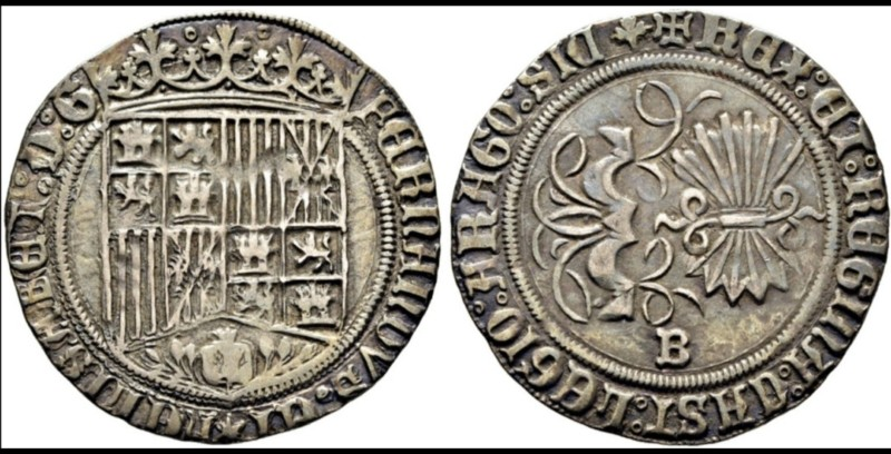 Real de Carlos I a nombre de los Reyes Católicos, Burgos. 20190715