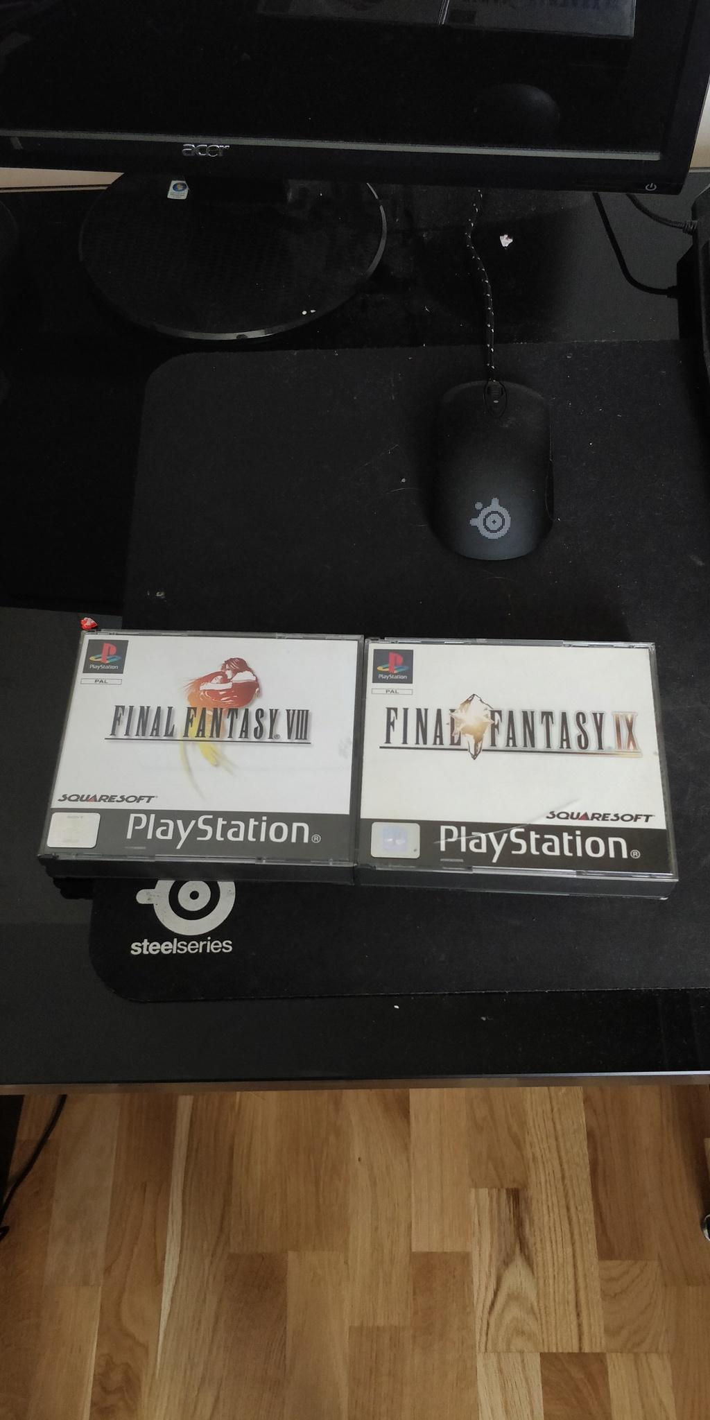 Projet de Full set Final Fantasy PAL FR 15290611
