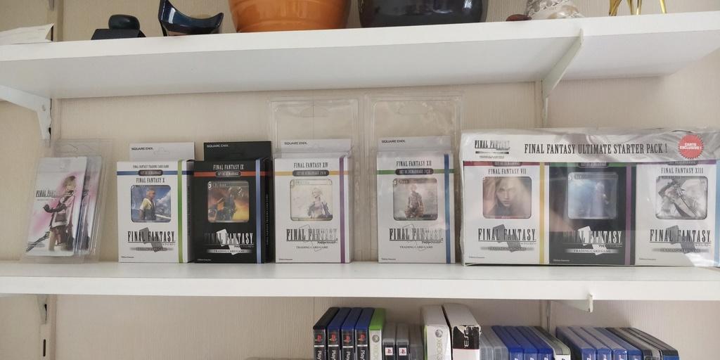 Projet de Full set Final Fantasy PAL FR 15290616