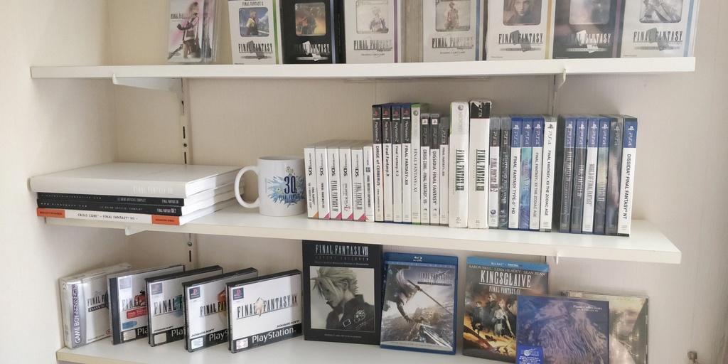 Projet de Full set Final Fantasy PAL FR 15290617