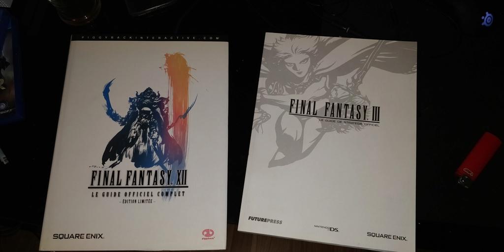 Projet de Full set Final Fantasy PAL FR 15294310