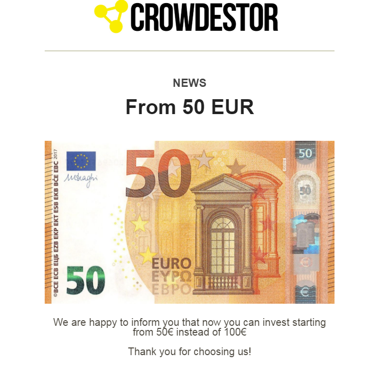 Crowdestor, inversion mínima a 50 € Sin_tz54