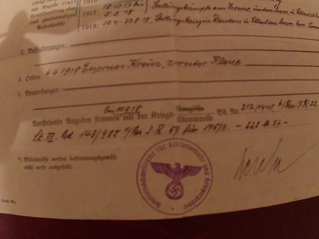 Document militaire Allemand Hbs00032