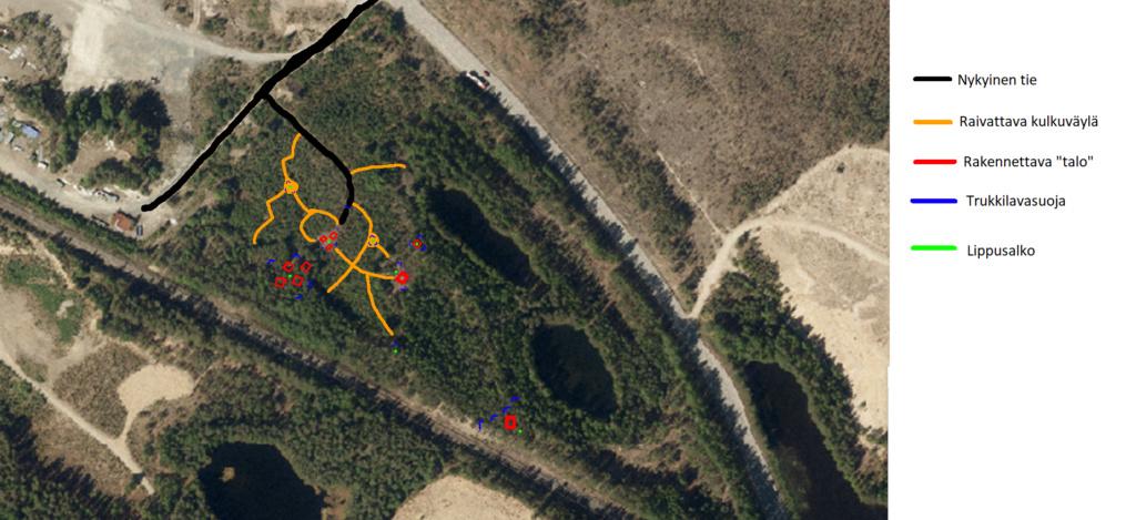 Naarajärven pelialueen rakentaminen Naarak10