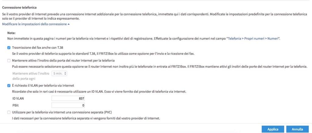 Fritzbox 7490 e TelecomItalia Fibra - Pagina 6 Scherm11