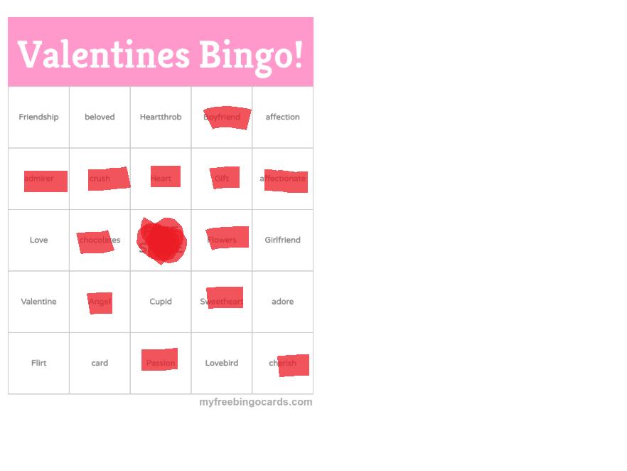 Valentines Bingo - Page 2 Bingo10