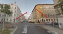 ПДД Австрии - знак главной дороги Stop-210