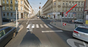 ПДД Австрии - знак главной дороги Stop-410