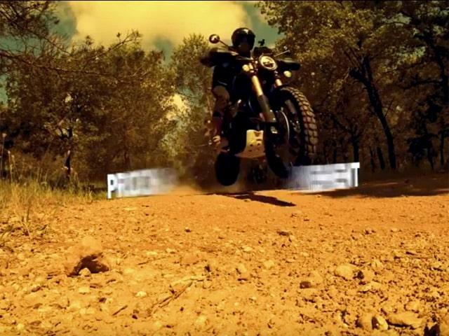 Off road scrambler 1200 Triump10