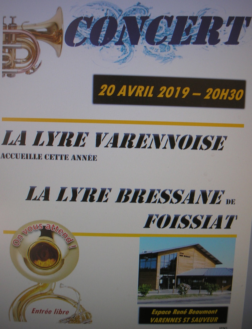 concert harmonie municipale de Varennes Saint Sauveur 71480 P1010019
