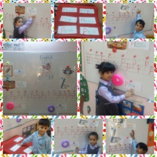 teaching letter Pp name, shape and sound Colla123