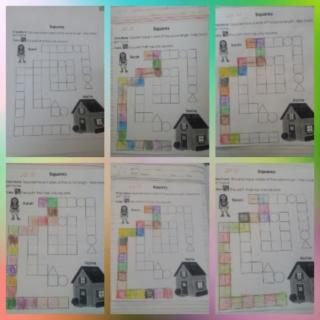 Teaching the square shape Colla125