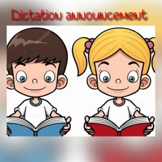Dictation announcement Colla136