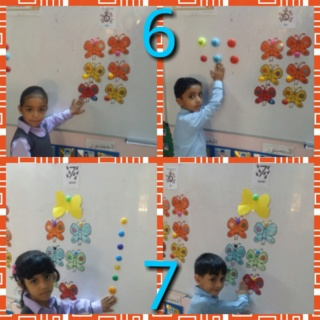 Teaching numbers 6 & 7 Colla143