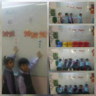 Teaching numbers 2 and 3 Collag56