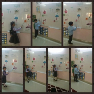 teaching letter Tt name, shape and sound Collag70