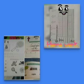teaching letter Tt name, shape and sound Collag72
