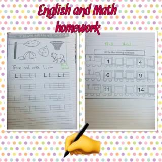English and Math homework  Fffe8110