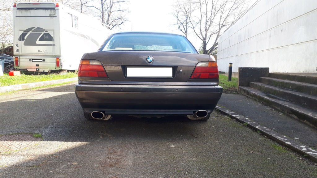 Ma 1er BMW --> 740 ia 1995 20200213