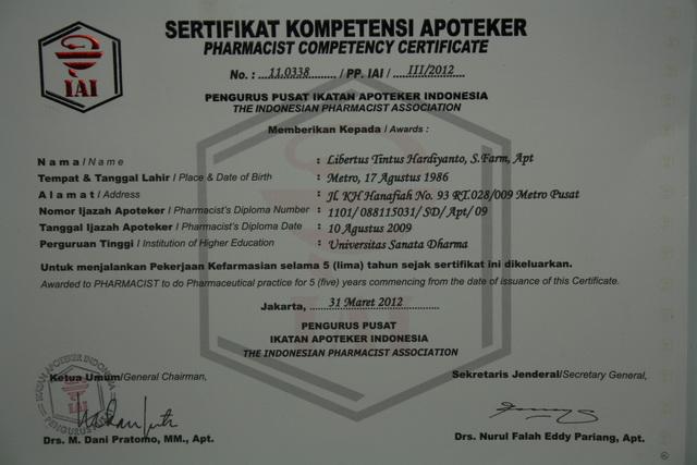 Tugas Sertifikasi Kompetensi Profesi Apoteker Img_2715