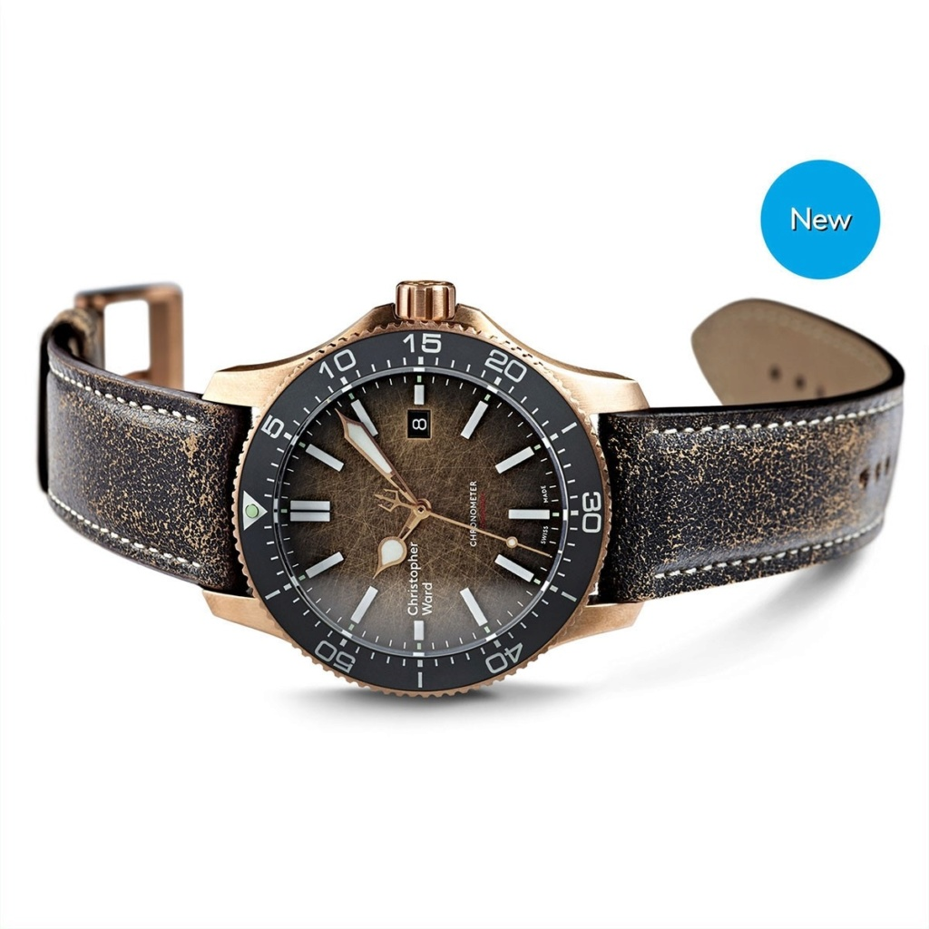 "ward - Nouvelle Christopher Ward C60 Trident Bronze ""Ombré"" COSC Limited Edition C60-4310"