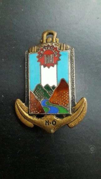 Insigne 1er bataillon thaï français 20190521