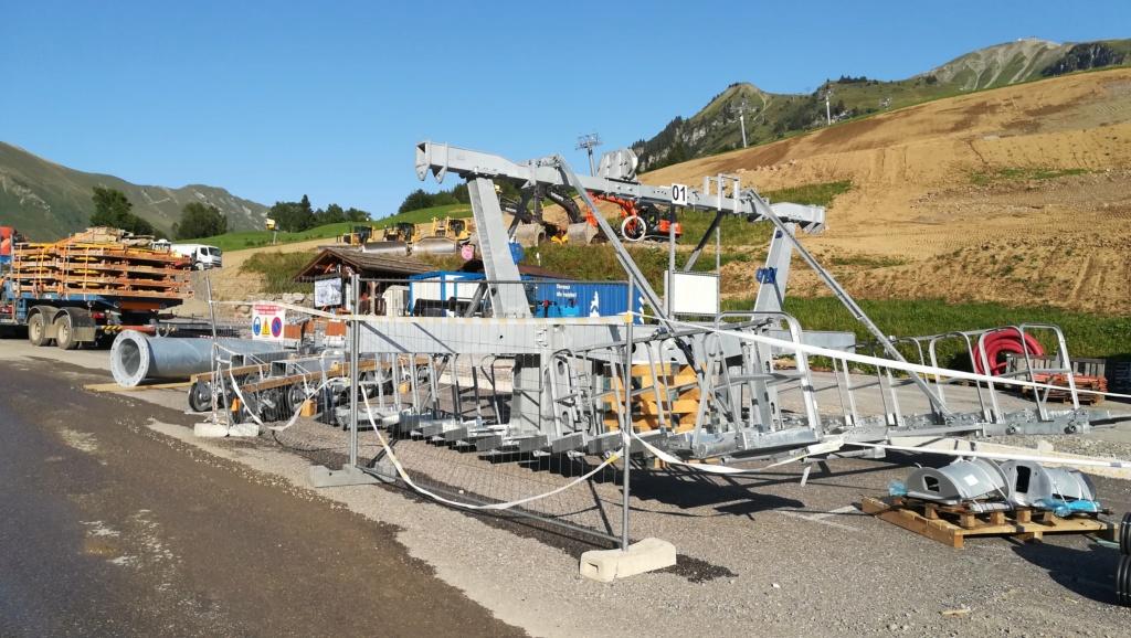 Construction télésiège débrayable (TSD6) les Charmieux - Grand Bornand Img_2026