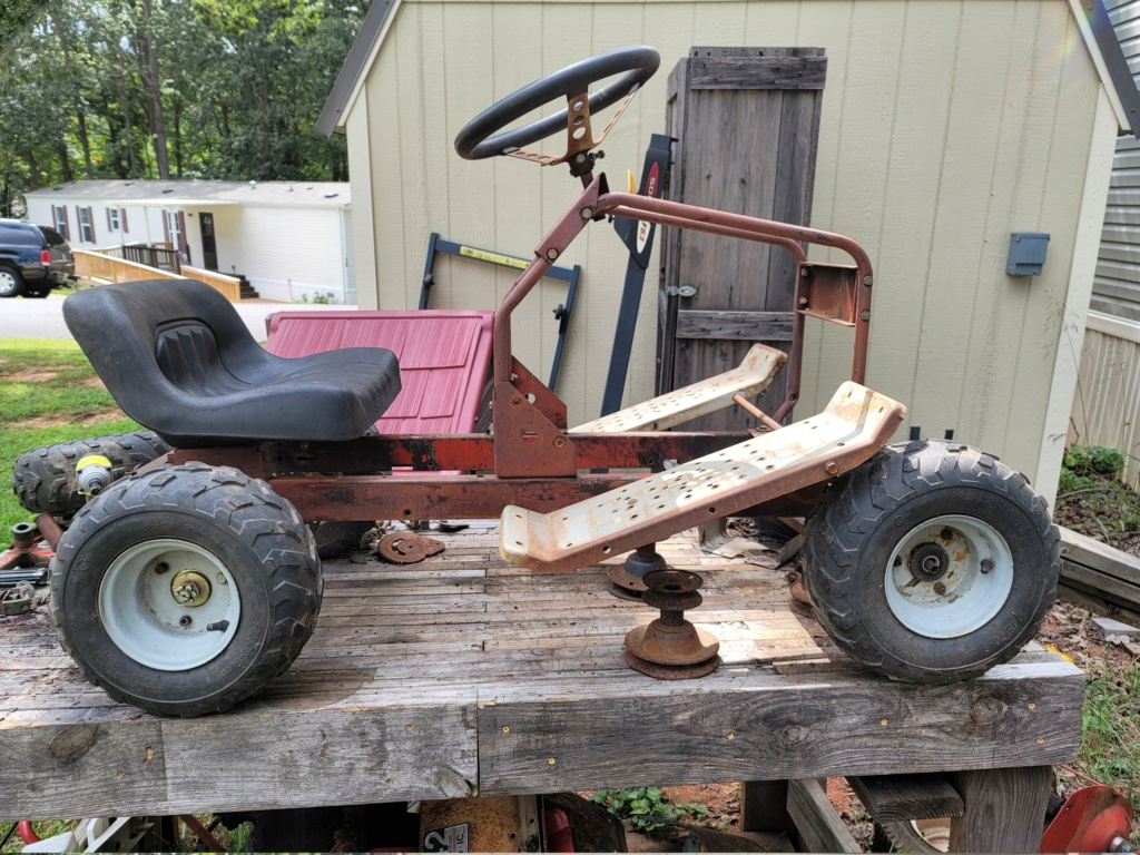 Rugg rat mower 20200914