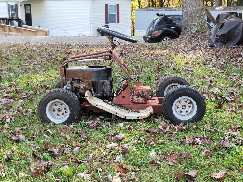 Rugg rat mower 20201014