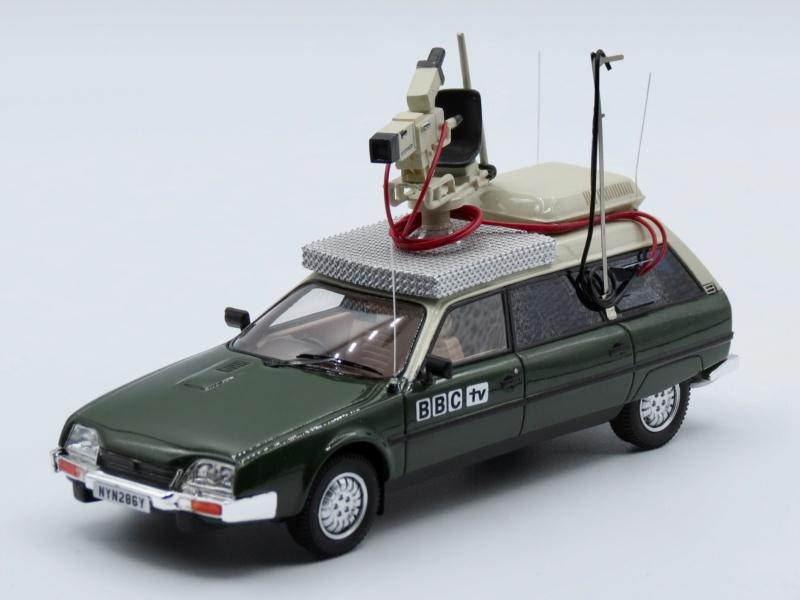 """Citroën miniatures > """"Véhicules de la presse, de la radio, de la télévision et du cinéma""""  1982_c10"""