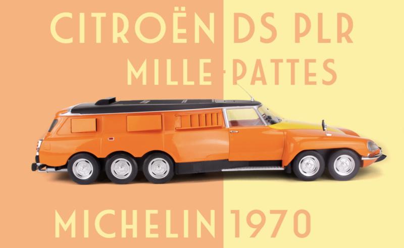 CMR : la DS PLR Michelin Millepattes au 1/18 Captu123