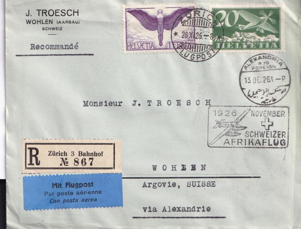 Schweizer Afrikaflug 1926 Schwei11