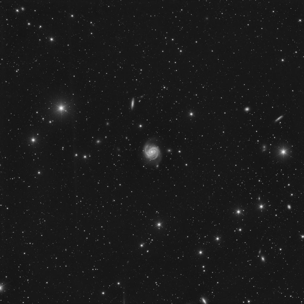 Une petite galaxie oublié sur mon disque dur : M100 2020-014