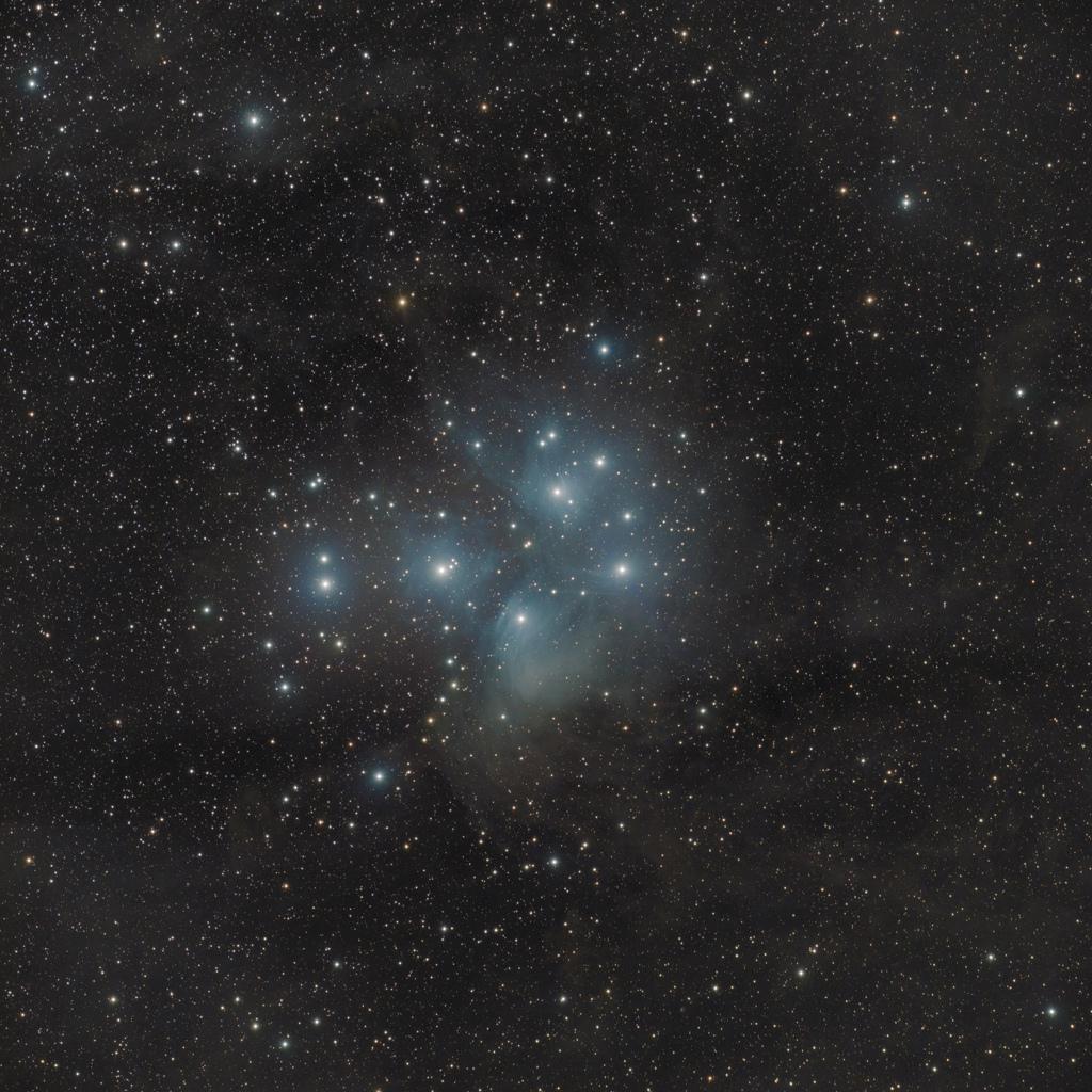 M45 en LRGB M45-lr10