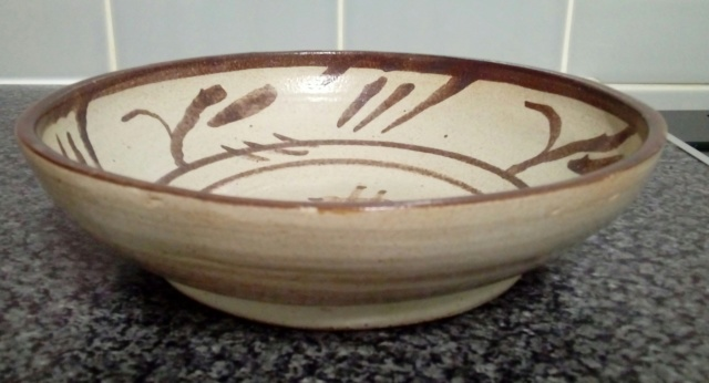 Glaze test bowl? Anybody recognise the style? - T.R.McG 1958  20200462