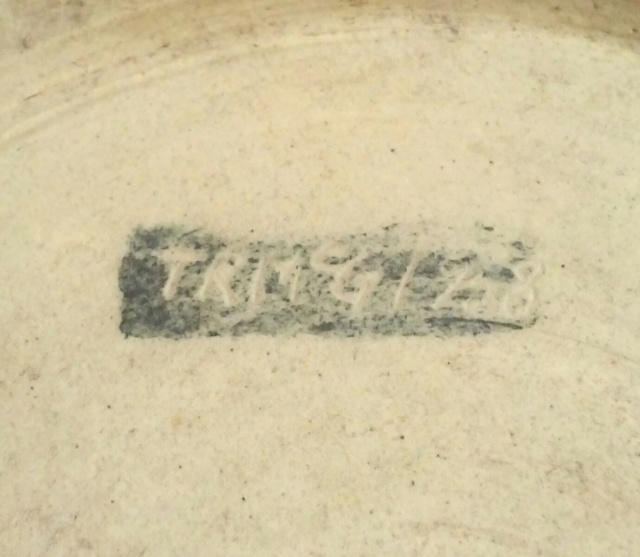 Glaze test bowl? Anybody recognise the style? - T.R.McG 1958  20200463