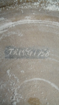 Glaze test bowl? Anybody recognise the style? - T.R.McG 1958  20200469