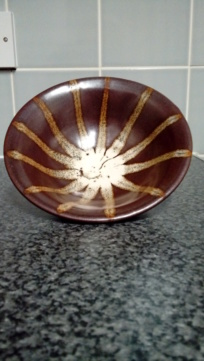 Sun symbol bowl. Impressed R or K inside O. 20200482